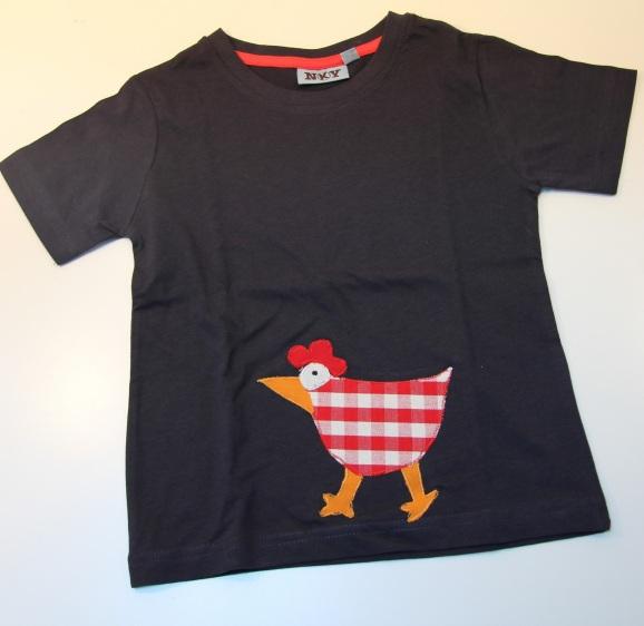 tee-shirt poule