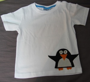 tee-shirt pingoin