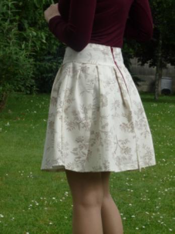 jupe à plis