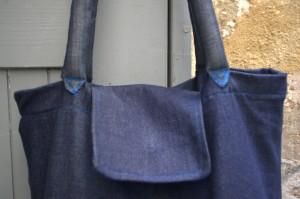sac bleu croquet