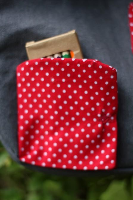 cartable Anastasia - porte poche