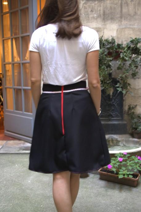 jupe belladone - dos