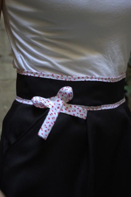 jupe belladone - noeud