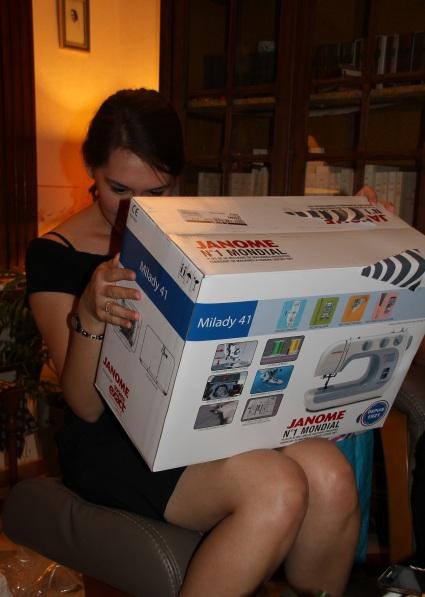 Un si gros carton tout pour moi ???