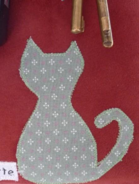 Tableau à clef chat