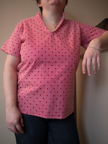 555 chemise mao